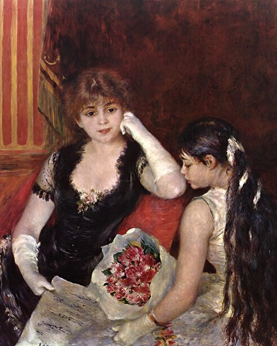 At the Concert Poster by Pierre-Auguste Renoir for $83.75 CAD
