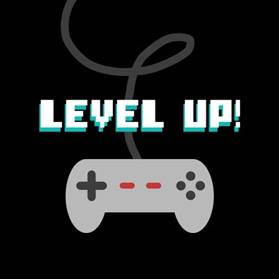 Level Up! Poster by Color Me Happy for $35.00 CAD