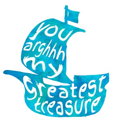 My Greatest Treasure Poster by Color Me Happy for $35.00 CAD