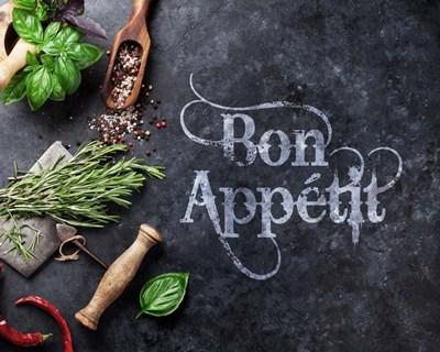 Bon Appetit Herbs and Spices Poster by Color Me Happy for $56.25 CAD