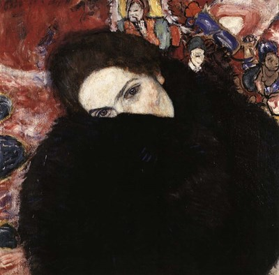 Lady with Muff, 1916-17 Poster by Gustav Klimt for $61.25 CAD