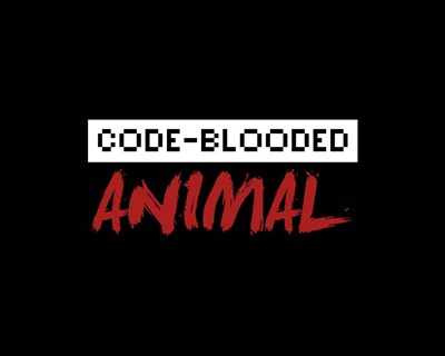 Code-Blooded Animal - Black Poster by Color Me Happy for $56.25 CAD