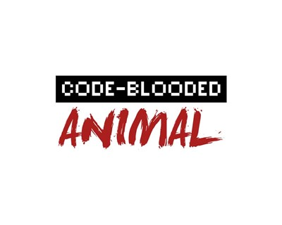 Code-Blooded Animal - White Poster by Color Me Happy for $56.25 CAD