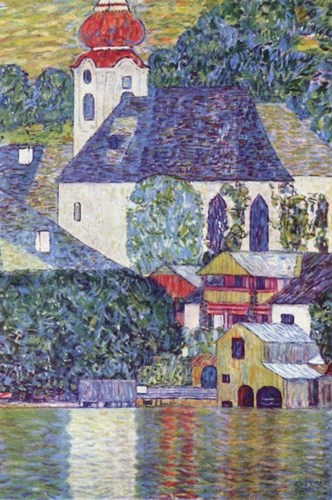 St Wolfgang Church Poster by Gustav Klimt for $33.75 CAD