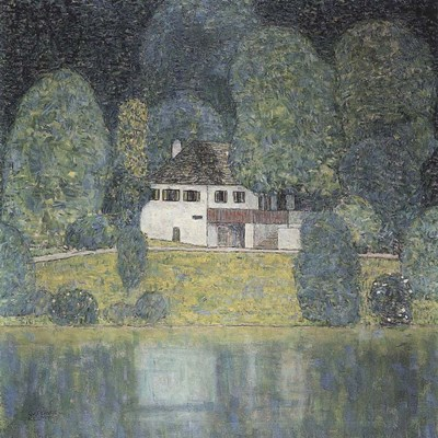The Litzlbergkeller on the Attersee Poster by Gustav Klimt for $40.00 CAD