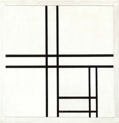 Composition in Black and White Poster by Piet Mondrian for $57.50 CAD