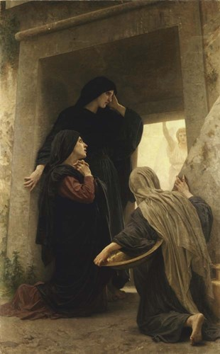 The Three Marys at the Tomb Poster by William Adolphe Bouguereau for $32.50 CAD