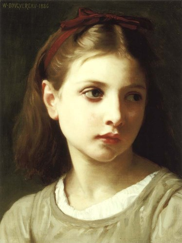 Une Petite Fille, 1886 Poster by William Adolphe Bouguereau for $37.50 CAD