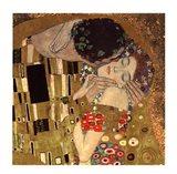 The Kiss, c.1908 (detail)