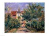 Renoir's house at Essoyes, 1906