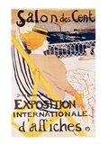 Poster advertising the 'Exposition Internationale d'Affiches', Paris, c.1896
