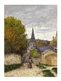 Street in Sainte-Adresse, 1868-70