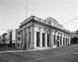 GENERAL VIEW, MAIN ST. FACADE ON LEFT, NINTH ST. ON RIGHT - Lynchburg National Bank, Ninth and Main Streets, Lynchburg