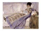 Madame Monet on a Sofa, c.1874