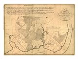 Map of Mt Vernon made by Washington