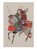 Samurai Riding a Horse