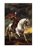 Portrait of Charles V, Holy Roman Emperor, on Horseback