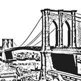 Black Brooklyn Bridge