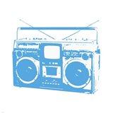 Blue Boom Box