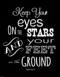 Keep Your Eyes On the Stars - Theodore Roosevelt