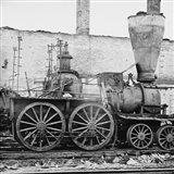 Richmond, Va. Damaged locomotives