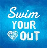 Swim Your Heart Out - Blue