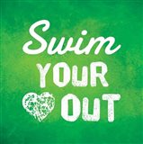 Swim Your Heart Out - Green
