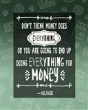 Don't Think Money Does Everything
