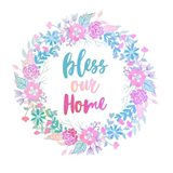 Bless Our Home -Pastel