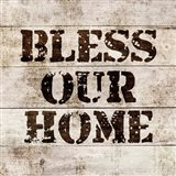Bless Our Home In Wood
