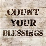 Count Your Blessings In Wood