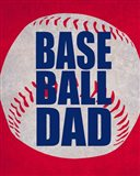 Baseball Dad In Red