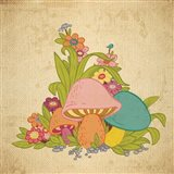 Colorful Mushrooms