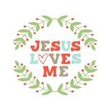 Jesus Loves Me-Garland