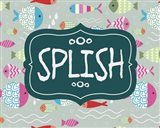 Splish and Splash Fish Pattern Green Part I