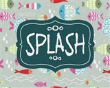 Splish and Splash Fish Pattern Green Part II