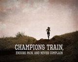 Champions Train Woman Color