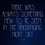 Night Sky - Fritz Leiber Quote