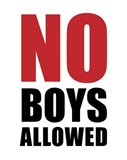 No Boys Allowed - White