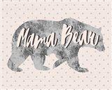 Mama Bear Silhouette