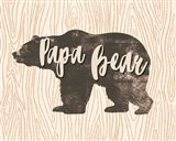 Papa Bear Silhouette