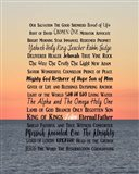Names of Jesus Ocean Sunset
