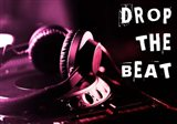 Drop The Beat  - Magenta and Red