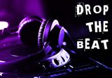 Drop The Beat - Purple and Blue