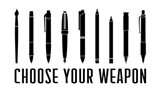 Choose Your Weapon - White