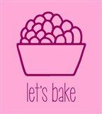 Let's Bake - Dessert II Pink