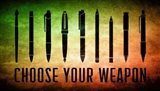 Choose Your Weapon - Scrotched Earth