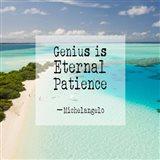 Genius is Eternal Patience - Beach