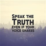Speak The Truth - Yellow