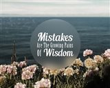 Mistakes Are The Growing Pains of Wisdom - Color